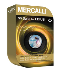 Mercalli V5 RT Suite for EDIUS