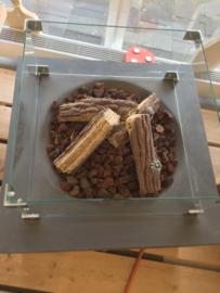 Happy Cocooning-tafel (Grijs)