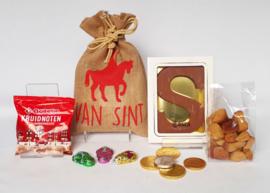 Sinterklaas pakket : Jute zak 4