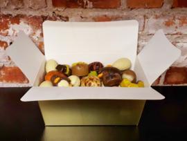 Extra grote doos met paaschocolade, 750 gram
