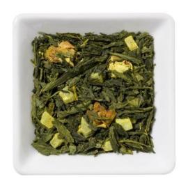 Groene thee met ananas en kurkuma