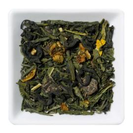 Groene thee Perzik