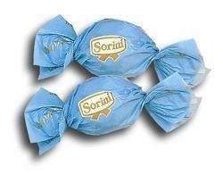 Blauwe Sorini chocolade bonbon, 10 stuks