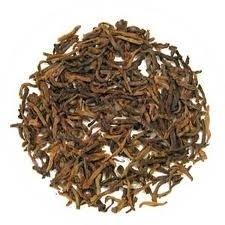 Pu Erh thee met aardbei