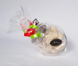 Snoeppot gevuld met 200 gram nougat