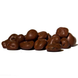 Chocolade rozijnen, 250 gram