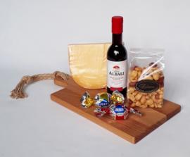 Kaas, noten, wijn pakket 1