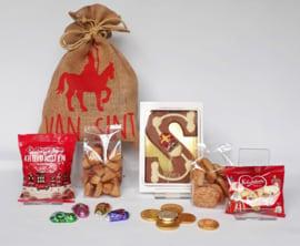 "Sinterklaas pakket ""Jute zak"" 2"
