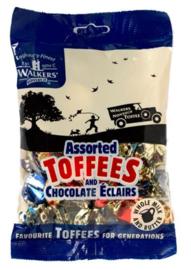 Walkers toffee's, zakje assortie 150 gram