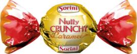 Sorini bonbon met Nutty crunchy caramel , per stuk