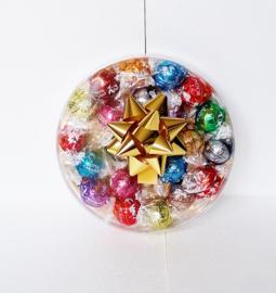 Luxe doos gevuld met Lindt ballen, 17 cm