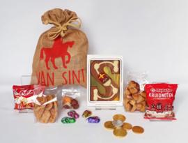 "Sinterklaas pakket ""Jute zak""1"