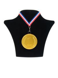 Chocolade medaille goud