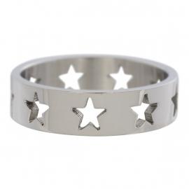 Open Symbol Stars Full. Zilver