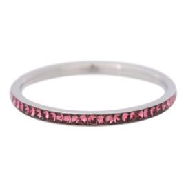 Zirconia Pink. Zilver