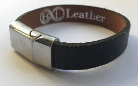 B&L Leather - BL203 Black Old Look