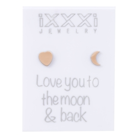 iXXXi Oorstekers Rosé : Love you to the moon & back