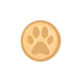 Dog Foot. Goud