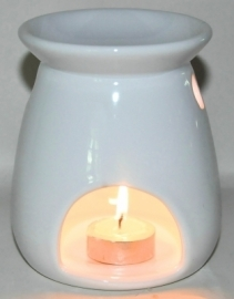 Oil Burner Bomb White