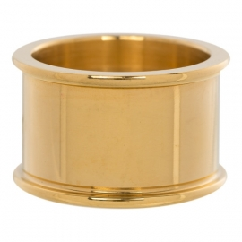 Basis ring 12 mm. Gold