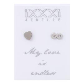 iXXXi Oorstekers Zilver :  My love is endless