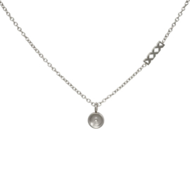 Necklace Chain Base, 40cm. Zilver