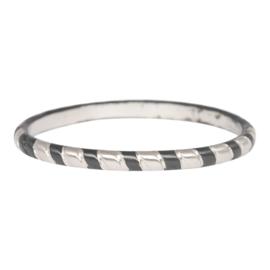 Rope Zilver/Zwart