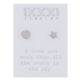 iXXXi Oorstekers Zilver:  I love you more than all the stars in the sky