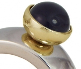 OHLALA!  Topping- OHT149 Onyx 8mm. Gold