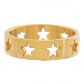 Open Symbol Stars Full. Goud