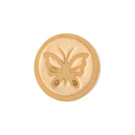 Butterfly. Goud