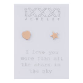 iXXXi Oorstekers Rosé :  I love you more than all the stars in the sky