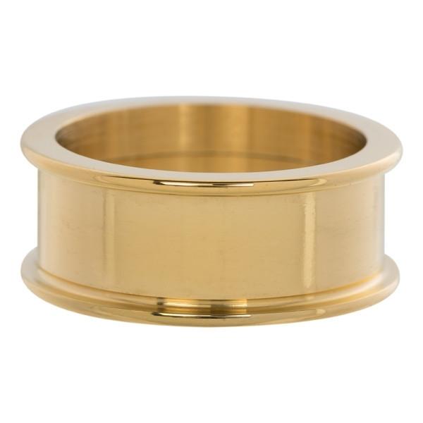 Basis ring 8 mm. Gold