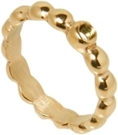 OHLALA!   Bubbels Shiny 1 hole 3mm Gold OHT27