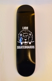 Lion Logo Deck Zwart