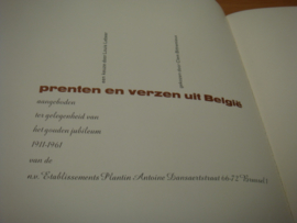 Prenten en verzen uit België - Lebeer, Louis & Clem Bittremieux