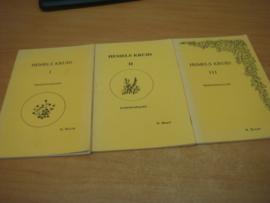 Hemels kruid deel I - II en III - gedichtenbundels - Bouw, N