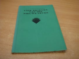 Vier brieven van het nieuwe leven - Rinderknecht, H.J