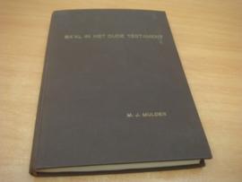 Ba'al in het oude testament. (proefschrift) - Mulder, M.J