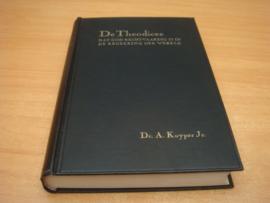 De theodicee dat God rechtvaardig is in de regeering in de wereld