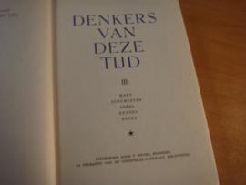 Denkers van deze tijd - deel 1,2 en 3
