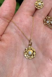 Hearts & Arrows  diamant (Verkocht!)