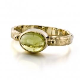 Peridoot ring (Verkocht!)