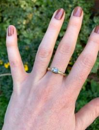 Bruine diamant & sterrenhemel