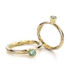 Groene diamant (Verkocht!)