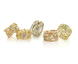 """Fairtrade """"Threads of life"""" ring"""