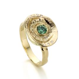 Kelkring & groene diamant