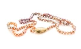 Ombre parels & diamant(Verkocht!)