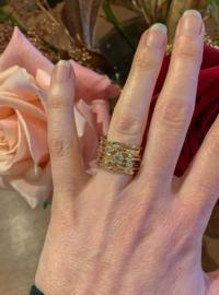 """""""De draden van het leven"""" ring"""