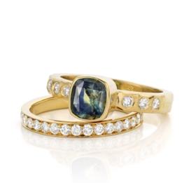 Saffier & diamant